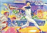 Leroy Neiman Ted Williams The Splendid Splinter painting