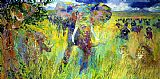 Leroy Neiman The Big Five painting