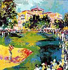 Golf paintings - Westchester Classic by Leroy Neiman