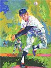 Leroy Neiman Whitey Ford painting