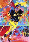 Leroy Neiman Willie Stargell painting
