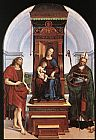 Raphael The Ansidei Altarpiece painting
