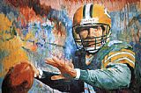 Unknown Artist Brett Favre 98 painting