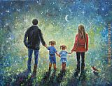 Unknown Artist a big family painting