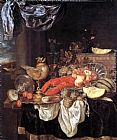 Abraham van Beyeren Large Still-life with Lobster painting