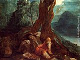 Adam Elsheimer Jacob's Dream painting