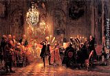 Adolph von Menzel The Flute Concert painting