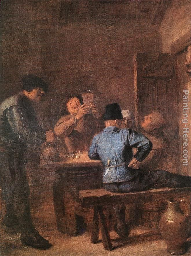 Adriaen Brouwer In the Tavern