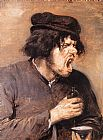 Adriaen Brouwer The Bitter Draught painting
