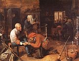 Adriaen Brouwer The Operation painting