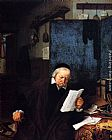 Adriaen van Ostade Lawyer In His Study painting