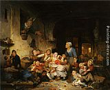 Adrien Ferdinand De Braekeleer The Village School painting
