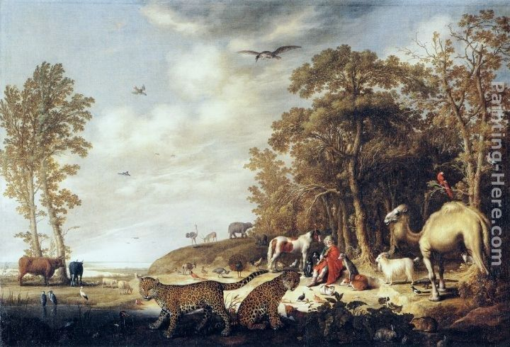Aelbert Cuyp Orpheus with Animals in a Landscape