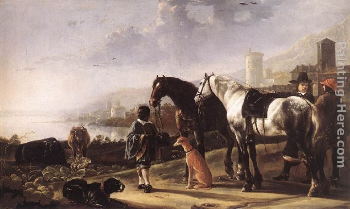 Aelbert Cuyp The Negro Page