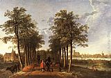 Aelbert Cuyp The Avenue at Meerdervoort painting