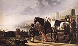 Aelbert Cuyp The Negro Page painting