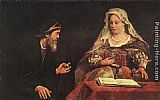Aert de Gelder Esther and Mordecai painting
