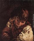 Aert de Gelder Portrait of a Boy painting