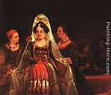 Aert de Gelder The Jewish Bride (Esther Bedecked) painting
