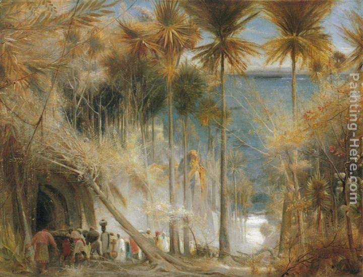Albert Goodwin Ali Baba abd the Forty Thieves