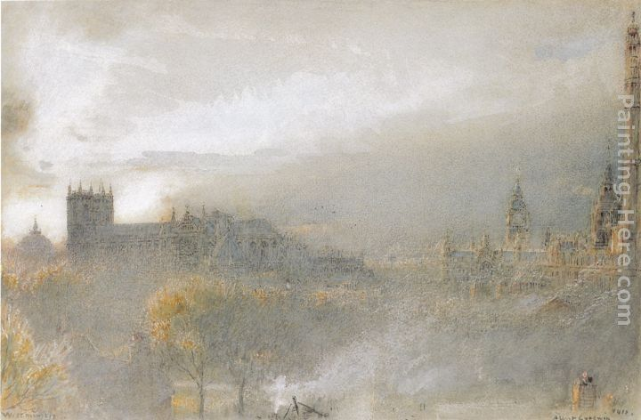 Albert Goodwin Whitby Abbey