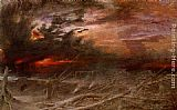 Albert Goodwin Apocalypse painting