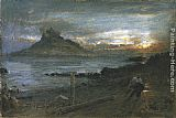 Albert Goodwin St. Michael's Mount painting