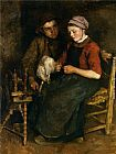 Albert Neuhuys Young Love painting