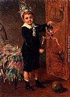 Albert Roosenboom The Young Entertainer painting