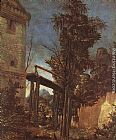 Albrecht Altdorfer Landscape with Path painting