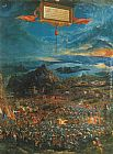 Albrecht Altdorfer The Battle of Alexander painting