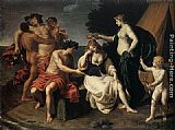 Alessandro Turchi Bacchus and Ariadne painting