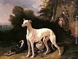 Alfred Dedreux A Greyhound In An Extensive Landscape painting