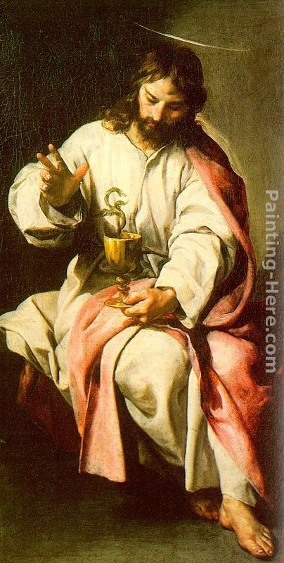 Alonso Cano St. John the Evangelist with the Poisoned Cup