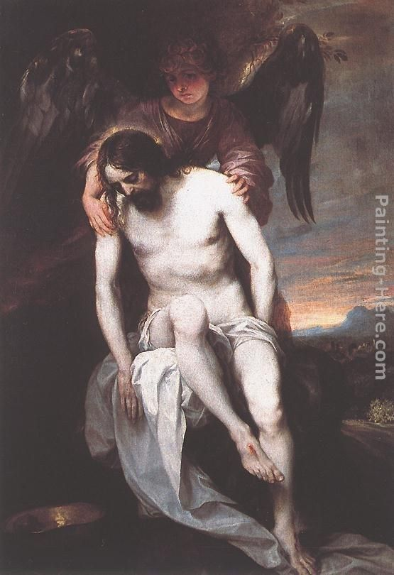 Alonso Cano The Dead Christ Supported by an Angel