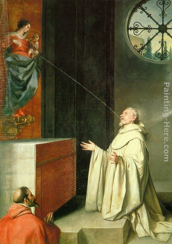 Alonso Cano The Vision of St Bernard