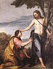Alonso Cano Noli me Tangere painting