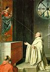 Alonso Cano The Vision of St Bernard painting