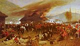 Alphonse de Neuville The Defence Of Rorke's Drift painting