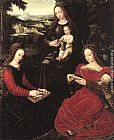Ambrosius Benson Virgin and Child with Saints painting