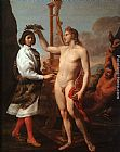 Andrea Sacchi Marcantonio Pasquilini Crowned by Apollo painting