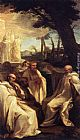 Andrea Sacchi The Vision of St Romuald painting