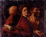 Andrea Sacchi Three Ages Of Man painting