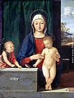Andrea Solario Virgin and Child painting