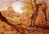 Andrew MacCallum Seasons In The Wood - Spring, The Outskirts Of Burham Wood painting