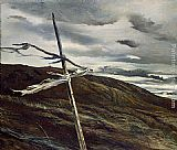 Andrew Wyeth Dodges Ridge painting