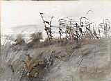 Andrew Wyeth November First painting