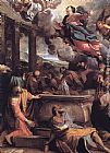 Annibale Carracci Assumption of the Virgin painting