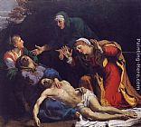 Annibale Carracci Lamentation of Christ painting