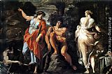 Annibale Carracci The Choice of Heracles painting